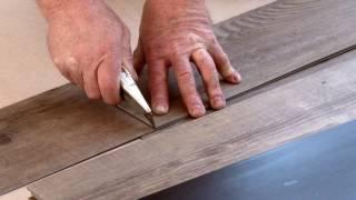 Zo leg je een PVC vloer met geluidsdempende ondervloer | MFLORshop pvc vloeren