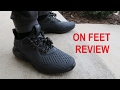 adidas ALPHABounce AMS Sneaker On Feet Review