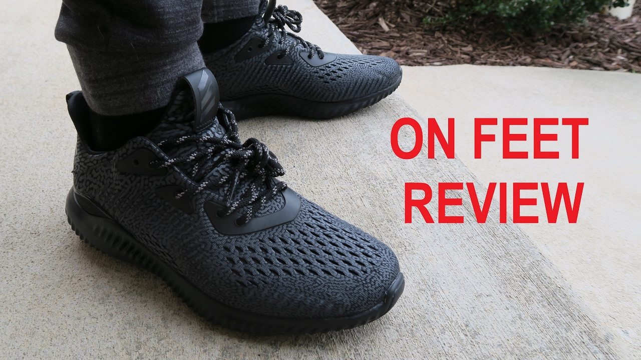 064e9e447 adidas ALPHABounce AMS Sneaker On Feet Review - YouTube