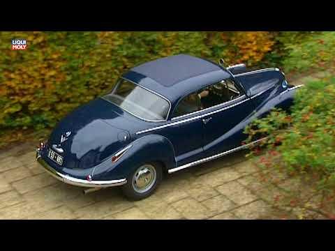 Onlinemotor BMW Heritage BMW 502 V8 Cabriolet 1954 1961 - YouTube