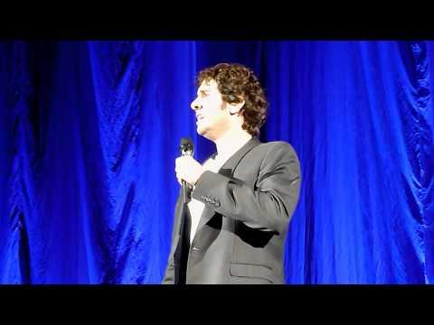 Josh Groban in London 2011 - Talking about London