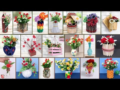 20 Quick Easy DIY Flower Pot Ideas !!!