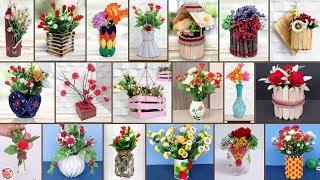 20 Quick Easy DIY Flower Pot Ideas !!!