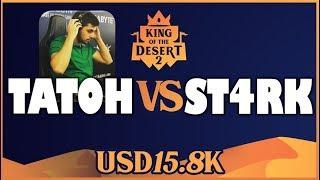 AOE 2 - TORNEO 15800 U$D RONDA 1 - TaToH vs ST4RK