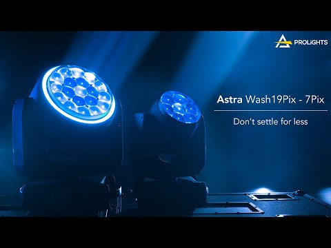 PROLIGHTS Astra Wash7Pix and Astra Wash19Pix