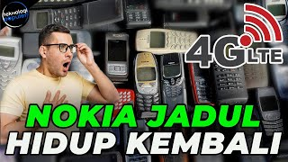 Nyobain Nokia 2720, HP lipat yang bisa WA, FB, Youtube, Google Maps.