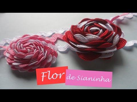 diy flor com  sianinha