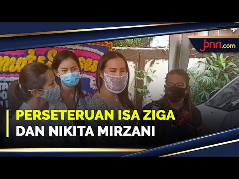 Pengakuan Isa Zega soal Awal Konfliknya dengan Nikita Mirzani