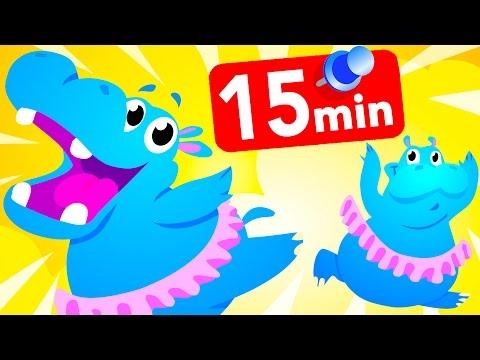 Hippo Jungle Song, Peek A Boo Kids Dance by Little Angel