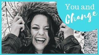 Loving Yourself Through Change (Motivational Speech for Women on Goal Setting Motivation)