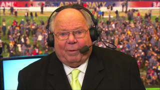 Verne Lundquist signs off from college football for one last time