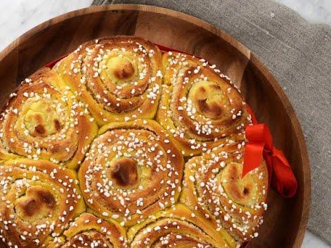 Roys Butterkaka Med Saffran - Köket