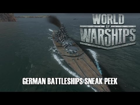 World of Warships - German Battleships Sneak Peek
