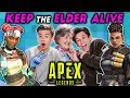 Keep The Elder Alive Challenge | APEX LEGENDS (React: Gaming)