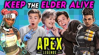 Keep The Elder Alive Challenge | APEX LEGENDS (React: Gaming)