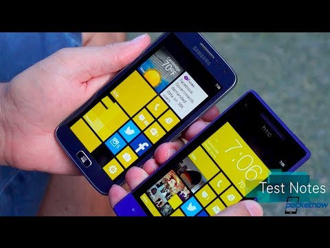 Samsung ATIV S Neo vs HTC 8XT