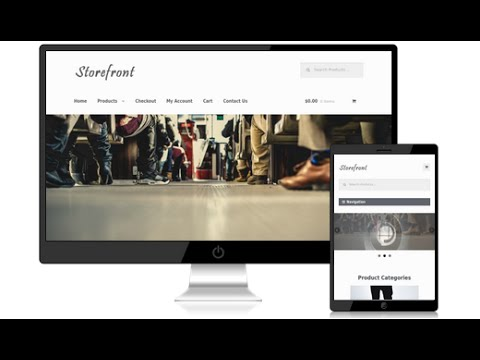 How to Make an eCommerce Website - Storefront WordPress Them