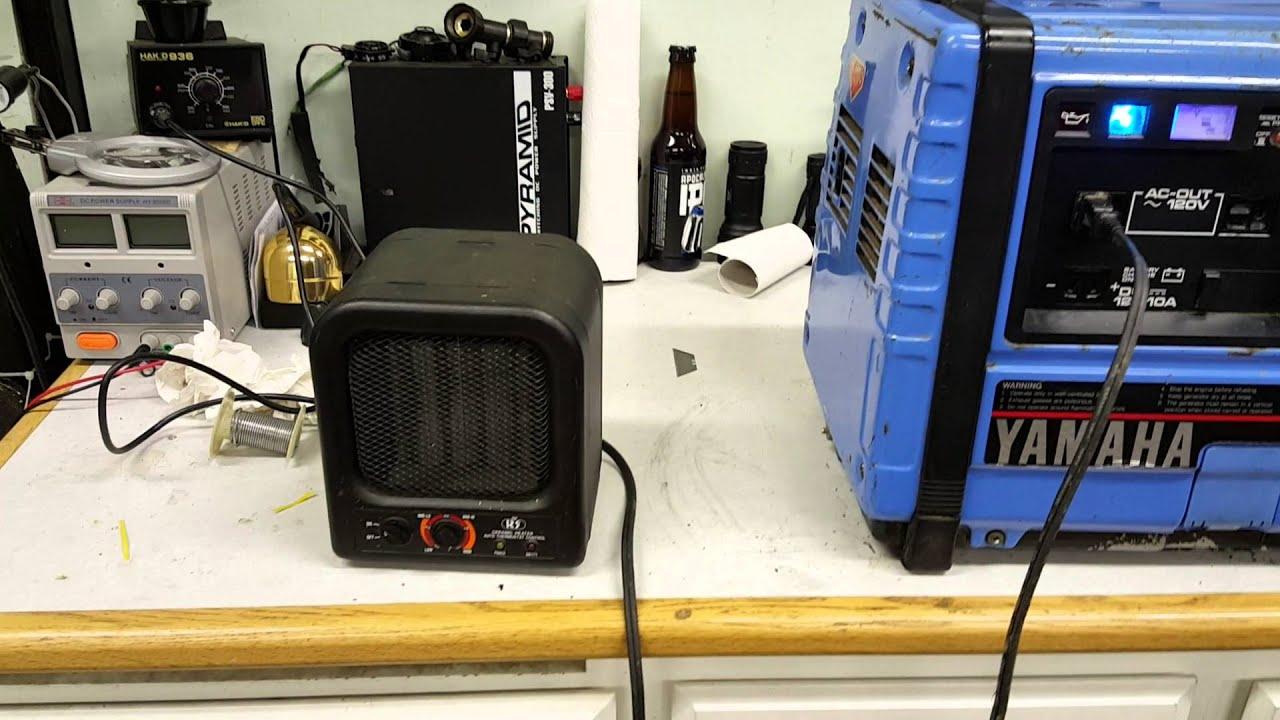 What Is A Spark Plug >> 1998 Yamaha EF1000 generator - YouTube