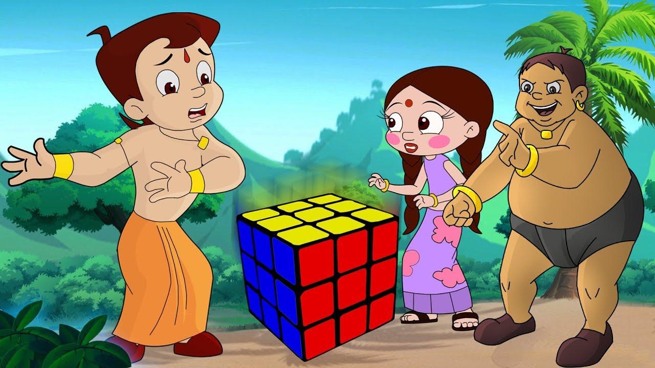 chhota bheem mysterious cube
