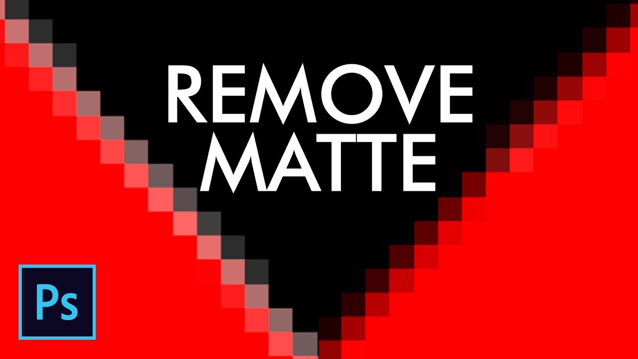 Remove Matte from Layer in Photoshop – Urdu / Hindi