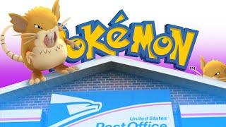 MY POST OFFICE IS A GYM!? | Pokémon Go