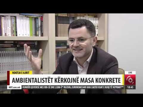 Afrim Osmani, Ambientalist air pollution, MTV2, 11 02 2017