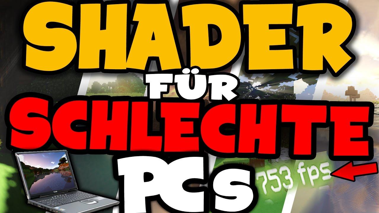 TOP Minecraft Shader Für Schlechte PCs - Minecraft flussig spielen laptop