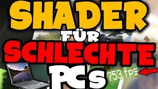 TOP 5 Minecraft Shader für schlechte PCs! 1.12/1.11/1.10/1.9/1.8 [FPS BOOST]