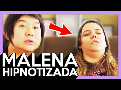 HIPNOSE : MALENA , PINTEI OS CATIOROS DELA E ELA FICOU BRAVA ! - 278