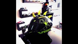cuernos para casco de moto