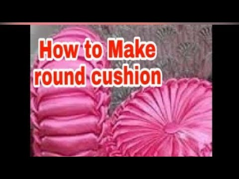 How To Prepare Smocking Decorative Cushion At Home Youtube