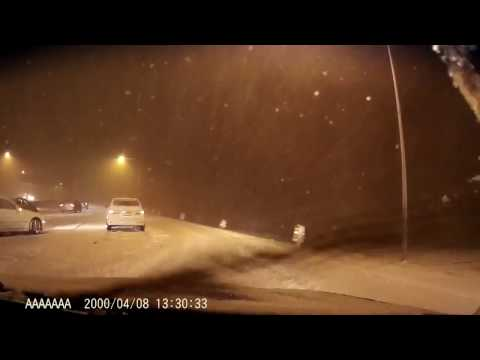 Us-26 highway Portland snow  road January 10 2017