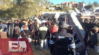 Gendarmería controla la zona tras explosión en Hospital Infantil de Cuajimalpa