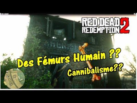 Des Fémurs Humain,cannibalisme ?? RED DEAD REDEMPTION 2
