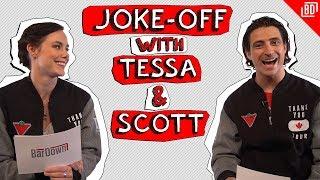 JOKE-OFF WITH TESSA VIRTUE & SCOTT MOIR