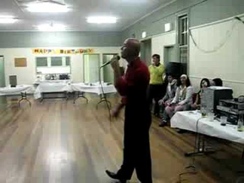 Tony Longo sings