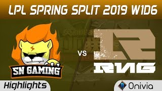 sn-vs-rng-highlights-game-1-lpl-spring-2019-w1d6-suning-gaming-vs-royal-never-give-up-by-onivia