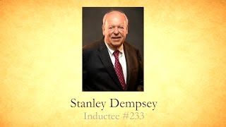 Stanley Dempsey - National Mining Hall of Fame Inductee #233