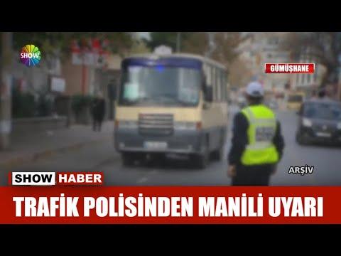Trafik  Polisinden Manili Uyarı!