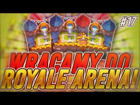 Clash Royale #17 WRACAMY DO ROYALE ARENA! Historia z fryzjerem! Nowy Deck z hidden teslą! - 동영상