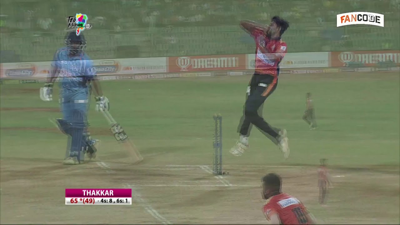 Mumbai T20 League 2019 | Aakash Tigers MWS vs Shivaji Park Lions | Match 20 | Live