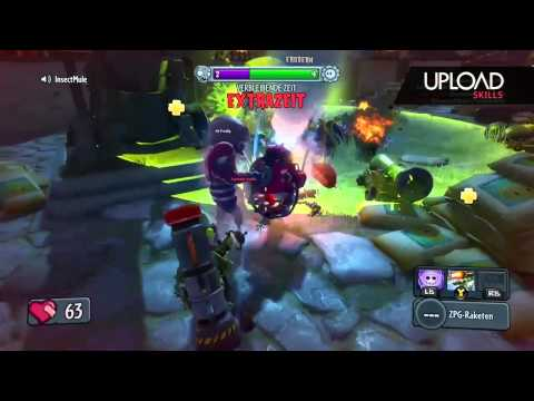 Plants vs Zombies: Garden Warfare - Rocket Skills