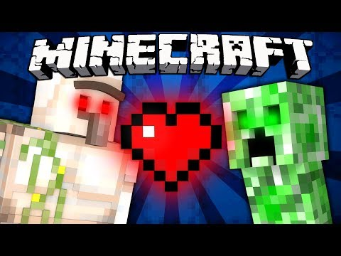 Why Iron Golems and Creepers are Friends - Minecraft