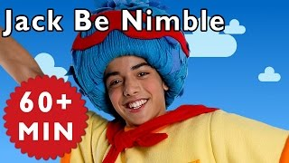 Jack Be Nimble and More | Nursery Rhymes from Mother Gooes Club!