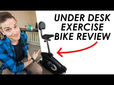 Desk Exercise Bike Review — Loctek U2 Exercise Bike