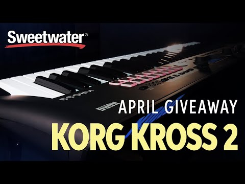 GIVEAWAY 🎁 — Korg Kross 61-key Synthesizer Workstation! ✅— YouTube Monthly Giveaway