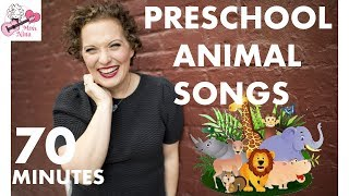 Preschool Animal Songs - 70 Minutes of Sing & Move Along Songs with Miss Nina