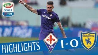 Fiorentina - Chievo 1-0 - Highlights - Giornata 26 - Serie A TIM 2017/18 streaming