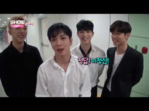 [ENG SUB] 170412 CNBLUE Show Champion Behind #43