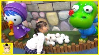 Kid Indoor Playground Family Fun Play Area for kids! Pororo theme Park| MariAndKids Toys